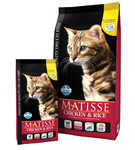Farmina Matisse Chicken & Rice 400 гр./Фармина сухой корм для кошек Курица с рисом