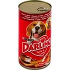 Darling 1,2 кг./Дарлинг консервы для собак с мясом и печенью
