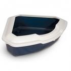 TRIOL Туалет CT03 для кошек угловой с бортом, 565*425*150мм