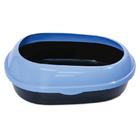 TRIOL Туалет P541 для кошек овальный с бортом, 490*380*160мм