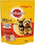 Pedigree 600 гр./Педигри сухой корм для взрослых собак миниатюрных пород, с говядиной