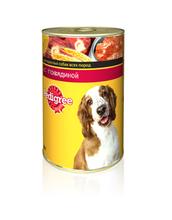 Pedigree 400 гр./Педигри консервы для собак с говядиной