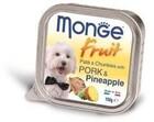 Monge Dog Fruit 100 гр./Монж консервы для собак свинина с ананасом