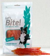 "Brit Care Let's Bite Chicken Breast//Брит Каре лакомство для собак""Куриные кусочки""с жирными кислотами 80 гр"