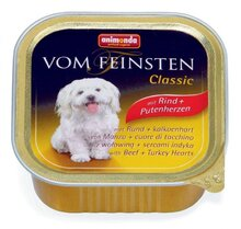 Animonda Vom Feinsten Classic 150 гр./Анимонда Консервы для собак с говядиной и сердцем индейки