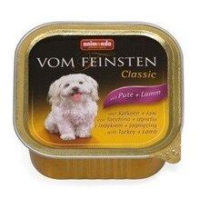 Animonda Vom Feinsten Classic 150 гр./Анимонда Консервы для взрослых собак на основе мяса индейки и ягненка