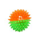 Игрушка ZIVER  Мячик с шипами (латекс) (зелено-оранжевый), 7 см, ZV.138