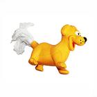 Игрушка ZIVER Собака с верёвочным хвостом (латекс) (оранж.) ZV.099