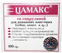 Цамакс со спирулиной//для домашних животных 100 г