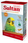 Sultan 500 гр./Султан Трапеза с орехами и морской капустой для волнистых попугаев