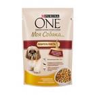 ONE 100 гр./Ван Консервы  Моя собака Любит поесть для собак мелких пород, индейка с морковью и горохом