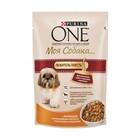 ONE 100 гр./Ван Консервы  Моя собака Любит поесть для собак мелких пород, курица, рис и томаты
