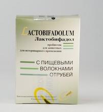 Лактобифадол с биоволокнами для собак и кошек 50 г