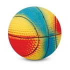 """Triol/Игрушка  для собак из латекса """"Мяч баскетбольный"""" 99002 , d60мм,"""