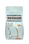 Uniclean 4,5 л./Юниклин Эконом Натуральный минеральный комкующийся гигиенический наполнитель для кошачьих туалетов