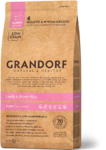 GRANDORF 1 кг./Сухой корм для щенков всех пород Ягненок с рисом