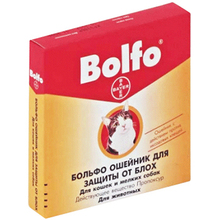 Bolfo//Больфо ошейник для мелких собак и кошек 35 см