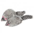 Triol/Игрушка  для кошек Мышь серая 90-100мм (уп.2шт.)M004NG