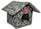 РОДНЫЕ МЕСТА Огурцы серые №1 32x33x36 см домик теремок для животных