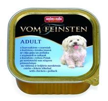 Animonda Vom Feinsten Menue 150 гр./Анимонда Консервы для собак с курицей и сайдой