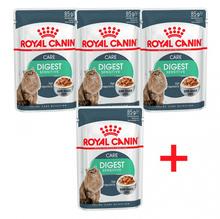 Royal Canin Digest Sensitive Gravy 3+1*85 гр./Роял канин консервы в фольге для взрослых кошек с чувствительным пищеварением