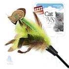 GiGwi /Дразнилка д/кошек с рыбками на длинной палке 1*384/75017