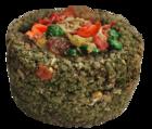 Sultan/Султан Травяная круглая корзиночка с фруктами