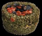 Sultan/Султан Травяная круглая корзиночка с ягодами
