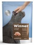 Winner 400 гр./Виннер сухой корм д/кошек домашнего содержания курица