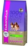 Eukanuba Dog Puppy 3кг//Эукануба сухой корм для щенков с ягненком и рисом