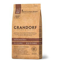 GRANDORF Сухой корм для собак всех пород  Утка с картофелем 3 кг.