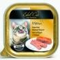 EdelKat 100 гр./Эдель Кет консервы для кошек нежный паштет птица