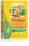 Friskies Indoor 400 гр./Фрискис сухой корм для домашних кошек с курицей, садовой травой
