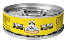 Погрызухин  кон.д/собак Оленина с тыквой 100 гр.