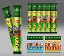 Колбаски для кошек «Аллегро Кэт» Allegro 5 гр. (1 шт.), Лосось и форель