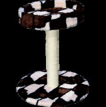 Зооник/Когтеточка на подставке с лежанкой  22108