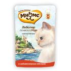 Мнямс 85 гр./Консервы для кошек Со средиземноморским лобстер