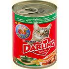 Darling 400 г//Дарлинг консервы для кошек с кроликом и уткой