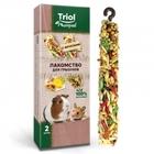TRIOL /Лакомство для грызунов с фруктами (уп.2шт.), 50 гр./40161015/