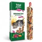 TRIOL /Лакомство для шиншилл с овощами (уп. 2 шт), 100 гр./40161016/