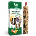 TRIOL /Лакомство для кроликов и морских свинок с фруктами (уп. 2 шт), 100 гр./40161017/