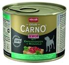 Animonda GranCarno Senior 200 гр./Анимонда консервы для собак старше 7 лет с сердцем утки и мангольдом