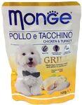 Monge Dog Grill  100 гр./Консервы для собак курица с индейкой