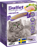 BUFFET Tetra Pak 190 г консервы для кошек мясные кусочки в желе с индейкой