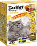 BUFFET Tetra Pak 190 г консервы для кошек мясные кусочки в желе с куриной печенью