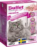 BUFFET Tetra Pak190 г консервы для кошек мясные кусочки в желе с ягненком