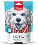 Wanpy Dog 100 гр./Ванпи Лакомство для собак курица с треской в форме сэндвича