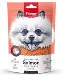 Wanpy Dog 100 гр./Ванпи Лакомство для собак лакомство кусочки из нежного лосося в форме рыбок