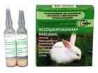 Вакцина для кроликов против ВГБК и Миксоматоза сухая  (1амп-10доз)