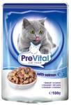 PreVital 100 гр./Превитал консервы для кошек лосось в соусе